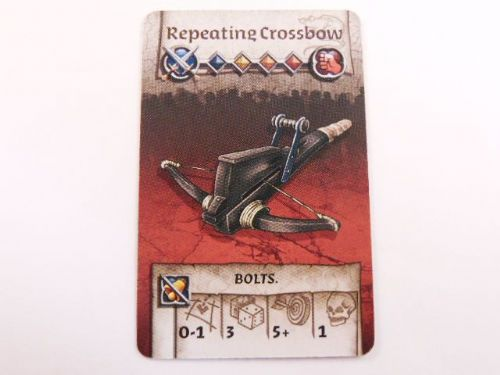 survivor equipment card (repeating crossbow)